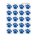 Teacher Created Resources TCR5747 Blue Paw Prints Stickers 120 Stks