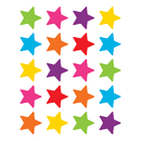 Teacher Created Resources TCR5796 Bright Stars Stickers Die Cut Star Shape