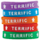 Teacher Created Resources TCR6549 Terrific Wristbands 10/Pk