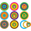 Teacher Created Resources TCR74753 Pop Outs With Pizzazz Mod Circles - With Owls