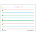 Teacher Created Resources TCR76501 Smart Start K-1 Writing Paper 100 - Sheets
