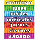 Teacher Created Resources TCR7692 Days Of The Week Spanish Chart