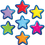 Teacher Created Resources TCR77209 Stars Magnetic Accents
