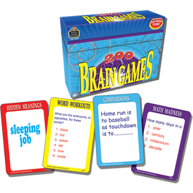 Teacher Created Resources TCR7809 200 Brain Games Game, Price/EA