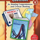 Teacher Created Resources TCR8376 Gr 6 Document-Based Questions For Read Comprehen & Critical Thinking