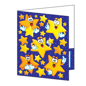 Teachers Friend TF-1718 Pocket Folder Look To The Stars Plastic Coated 8-1/2 X 11, Price/EA