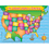 Teachers Friend TF-2140 Usa Map Friendly Chart 17X22