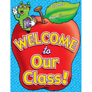 Teachers Friend TF-2185 Chart Welcome To Our Class 17 X 22 Plastic-Coated