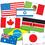 Teachers Friend TF-3311 International Flags Accent Punch Outs