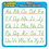 Teachers Friend TF-7002 Modern Manuscript Alphabet 4In Learning Stickers 20 Per Pack