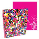 Axis Group TKD04285 Stylez Confetti 70 Pg Spiral - Notebook