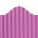 Top Notch Teacher Products TOP21015 Corrugated Border Radiant Orchid