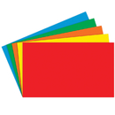 Top Notch Teacher Products TOP3660 Border Index Cards 3 X 5 Blank Primary Colors 100Ct