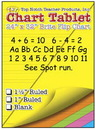 Top Notch Teacher Products TOP3820 Chart Tablets 24 X 32 Assorted 1/2 Ruled