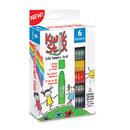 The Pencil Grip TPG601 Kwik Stix Tempera Paint 6Pk Primary Colors