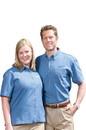 Edwards Garment 1013 Denim Shirt - Men's Denim Shirt (Short Sleeve)
