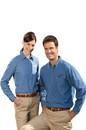 Edwards Garment 1093 Denim Shirt - Men's Denim Shirt (Long Sleeve) - 6.5 Oz