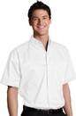 Edwards Garment 1740 Twill Shirt - Men's Cotton-Rich Twill Shirt (Short Sleeve)