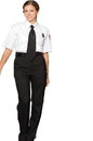 Edwards Garment 8591 Security Pant - Women's Flat Front Polyester Pant