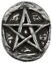 AzureGreen A4502ST Pentagram pocket stone