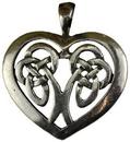 AzureGreen ACCELH Celtic Heart