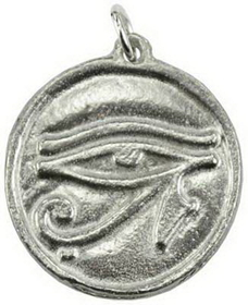 AzureGreen Eye of Horus Amulet