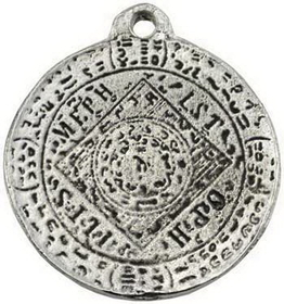 AzureGreen The Seal of Mephistopheles amulet