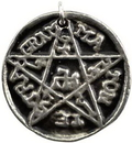 AzureGreen APENG7 Pentagram of Solomon