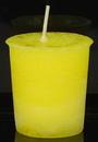 AzureGreen CVHLAU Laughter Herbal votive - yellow