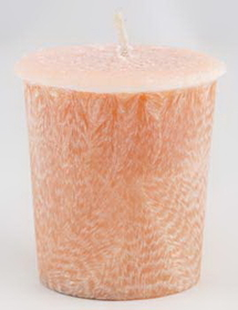 AzureGreen Sandalwood Palm Oil Votive Candle