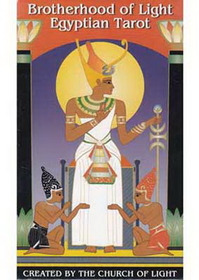 AzureGreen Brotherhood of Light Egyptian tarot deck by Church of Light