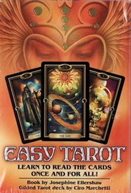 AzureGreen Easy Tarot deck & book by Ellershaw/ Marchetti