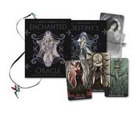 AzureGreen Enchanted Oracle deck and book by Barbara Moore and Jessica Galbreth