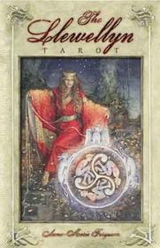 AzureGreen Llewellyn tarot deck & book by Ferguson, Anna-Marie