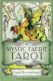 AzureGreen Mystic Faerie (book and deck) by Ravenscroft/ Moore
