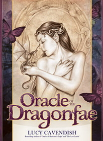 AzureGreen Oracle of the Dragonfae  by Lucy Cavendish