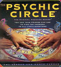 AzureGreen Psychic Circle (Ouija Board)  by Zerner/ Farber