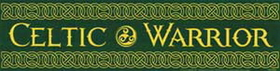 AzureGreen Celtic Warrior bumper sticker