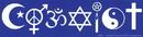 AzureGreen EBCOEX Coexist Bumper Sticker