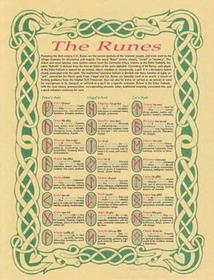 AzureGreen Runes poster