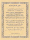 AzureGreen EPWICP Wiccan Rede(long poem) poster