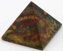 AzureGreen GPYB 30-35mm Bloodstone pyramid
