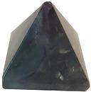AzureGreen GPYFLUR30 30-35mm Fluorite, Rainbow pyramid
