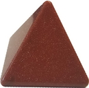 AzureGreen GPYGOLR30 30-35mm Goldstone, Red pyramid