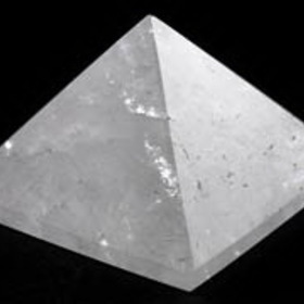 AzureGreen Small Quartz Crystal Pyramid 30-40mm