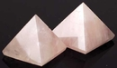 AzureGreen GPYRQ 30-40mm Rose Quartz pyramid