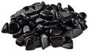 AzureGreen GTOBSB 1 lb Black Obsidian tumbled