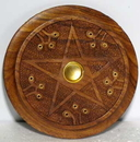 AzureGreen IBWP Wooden Pentagram burner