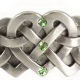 AzureGreen Celtic Heart Bracelet