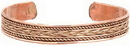 AzureGreen JBCB Copper Braided bracelet